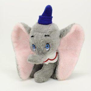 Vintage Walt Disney Dumbo Stuffed Animal Doll
